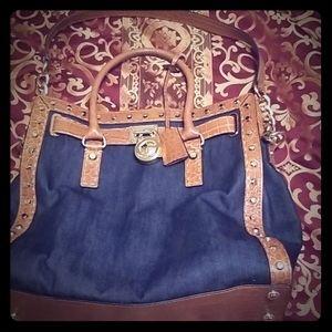 Michael Kors Denim handbag